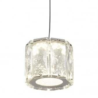 Maxim Single Drop Light LED Octagon Pendant