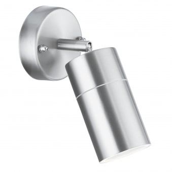 Outdoor and Porch IP44 Directional Spotlight in Chrome