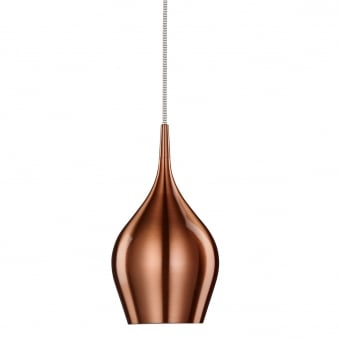 Vibrant Copper Aluminium Breakfast Bar Light