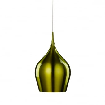 Vibrant Green Aluminium Pendant Light