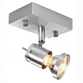 Asto Single Surface Mounted Ceiling and Wall Spotlight