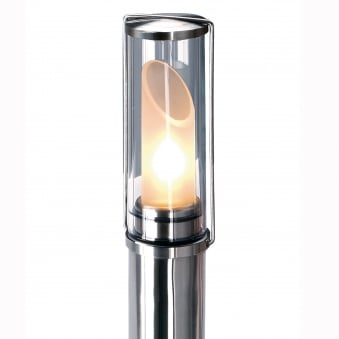 Nails Stainless Steel Finish Floor Lamp