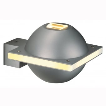UFO Beam White Exterior Wall Light