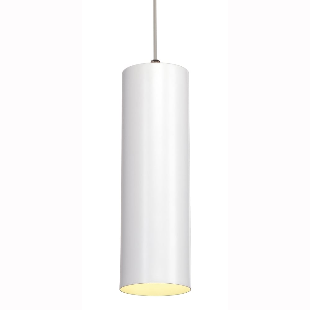 Slv enola white ceiling pendant fitting