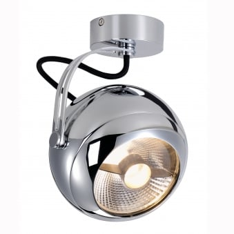 Light Eye Chrome Adjustable Spotlight