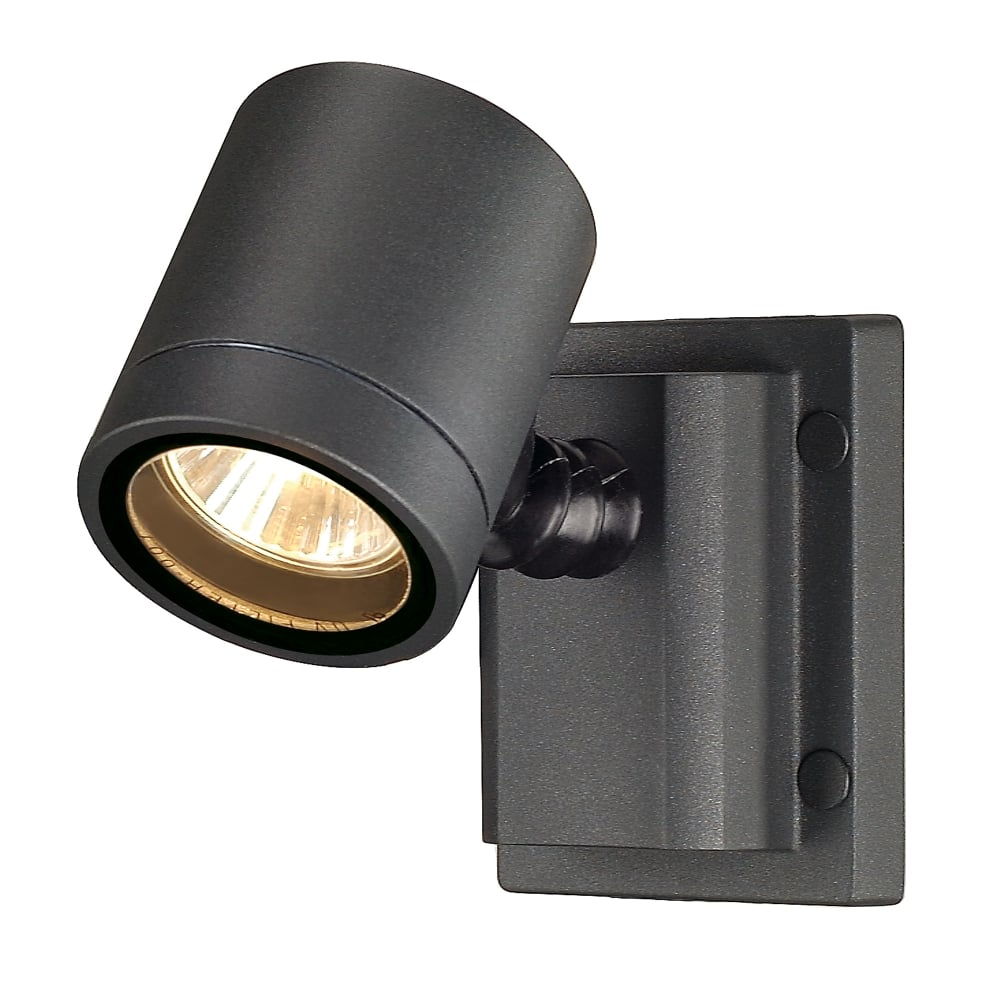 Anthracite Garden Wall Lights : SLV Myra Wall Light in Anthracite