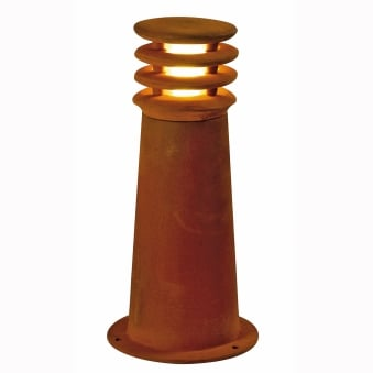 Rusty 40 Exterior Bollard Light