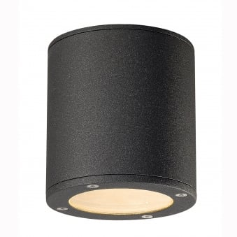 Sitra Surface Mounted Ceiling Light in Anthracite