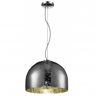 Carino Chrome Plated Pendant